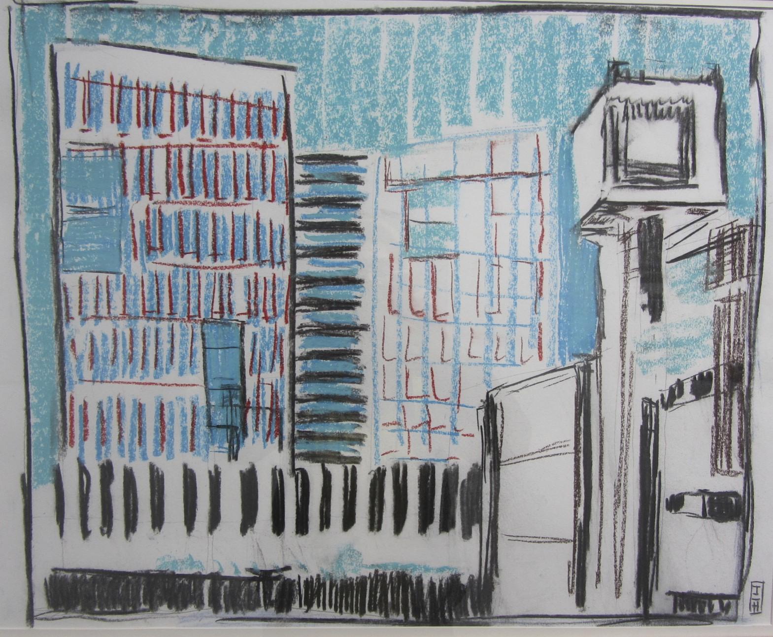 jan 2105 | pastel op papier | 47 x 59 cm | particuliere collectie